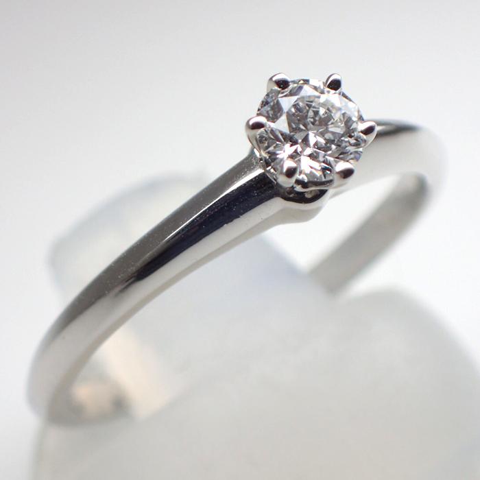 ティファニーダイヤモンドリング 0.23ct TIFFANY RING