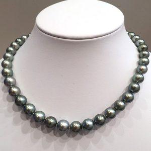 南洋黒真珠ネックレス 80g