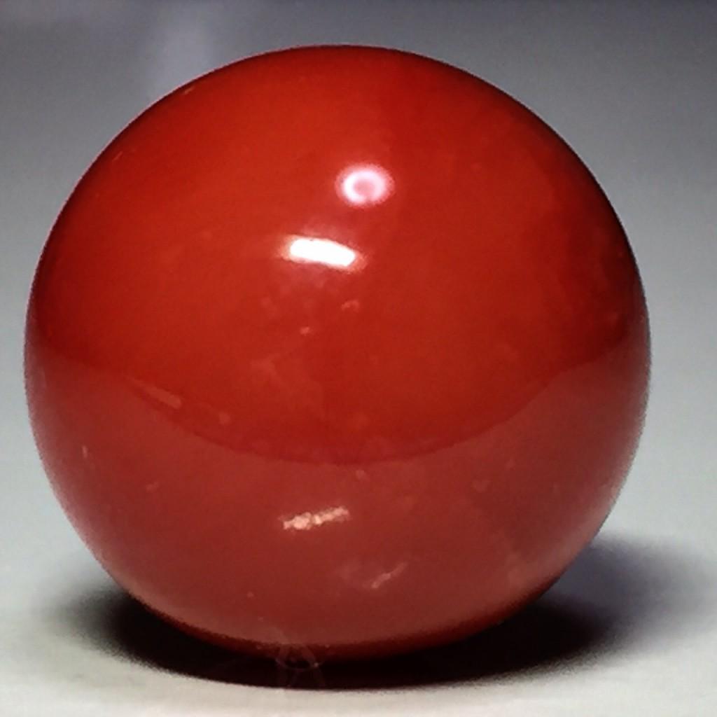 血赤本珊瑚 丸玉 6.2ct