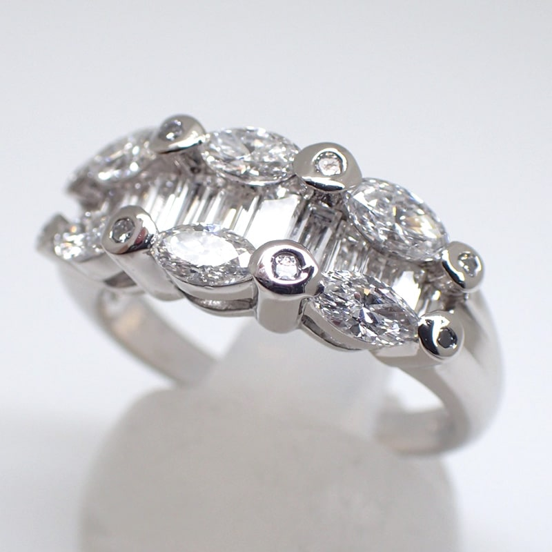 天然ダイヤモンドリング1.67ct