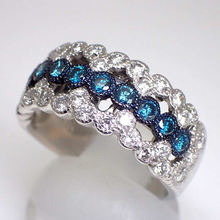 天然ダイヤモンドリング 1.50ct