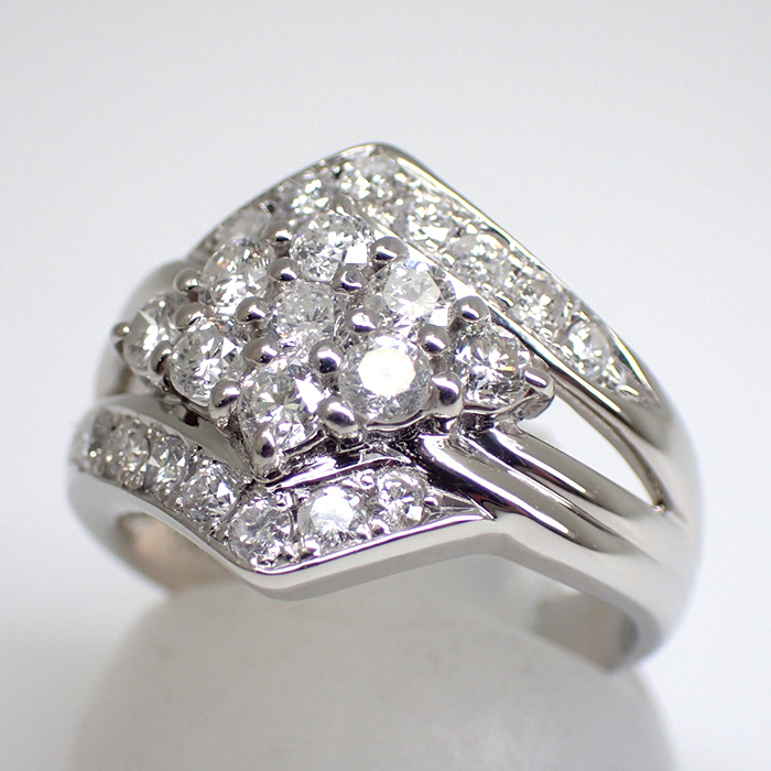 天然ダイヤモンドリング 1.04ct