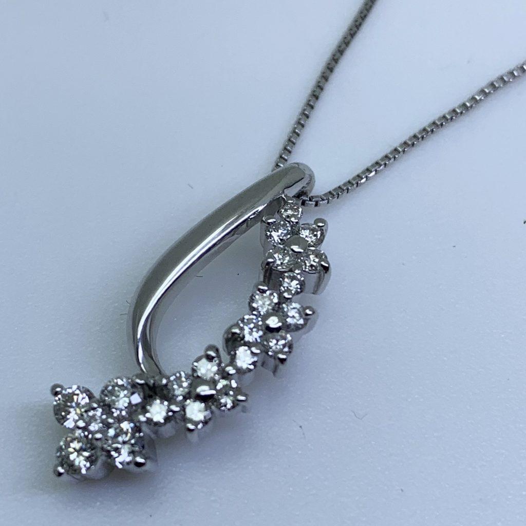 ダイヤモンドネックレス0.98ct