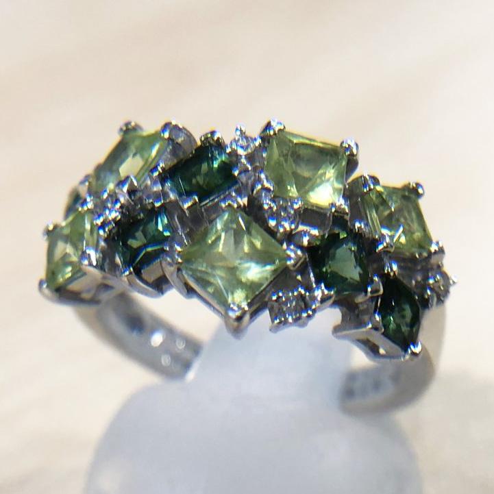 ペリドット1.40ctの指輪