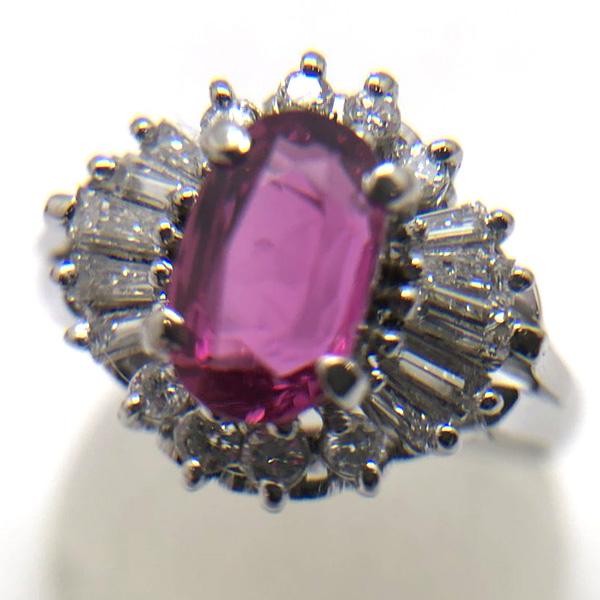ルビーの指輪1.16ct