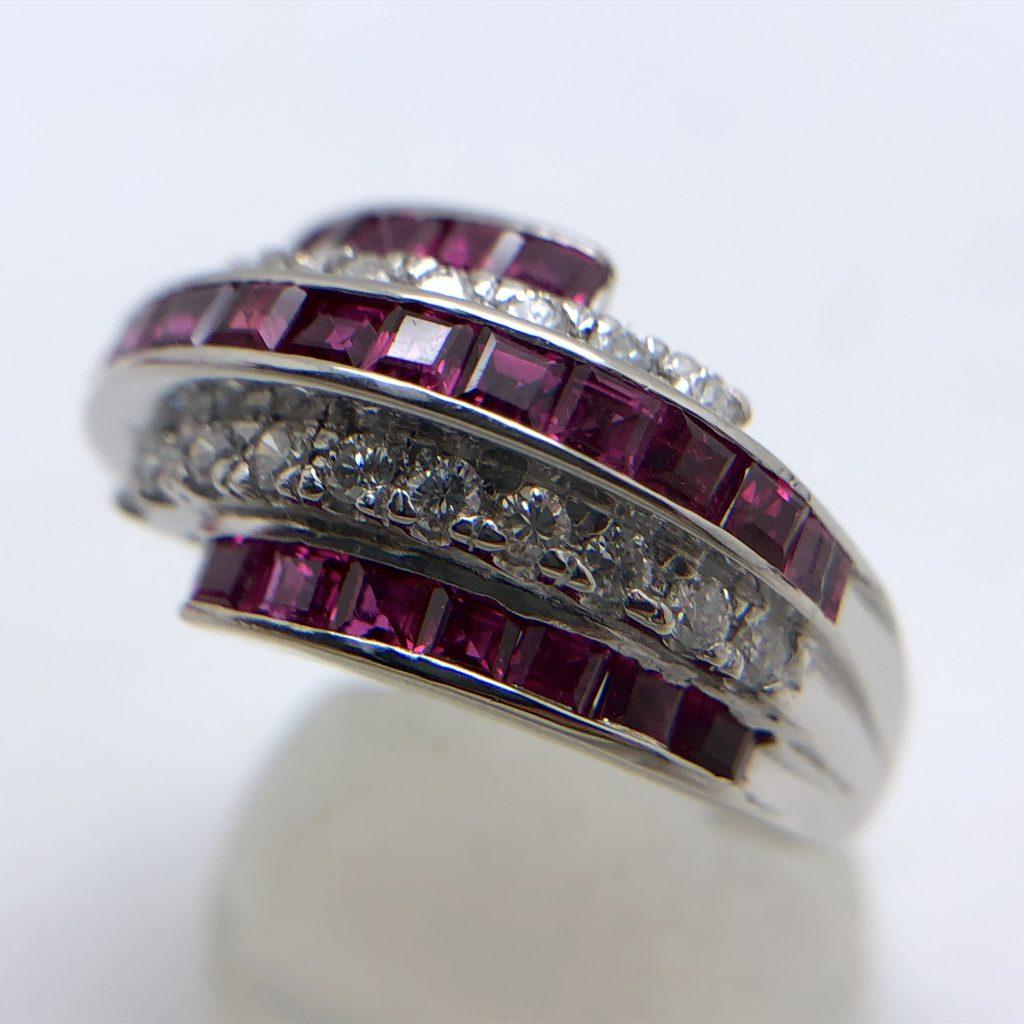 ルビーの指輪2.08ct