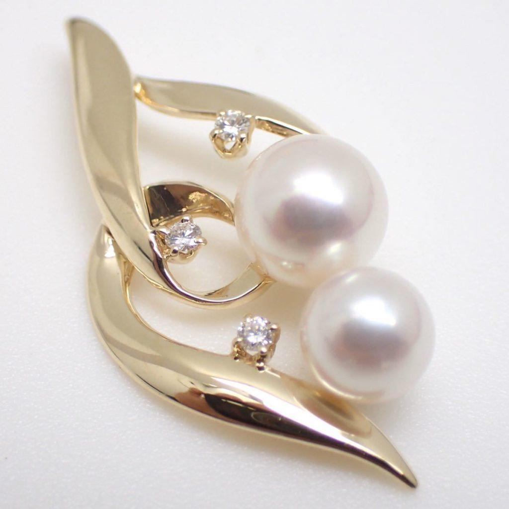 アコヤ本真珠ペンダントトップ 6.0-7.0mm珠