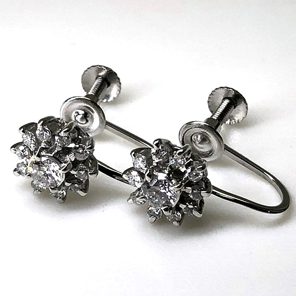 ダイヤモンドイヤリング0.205ct