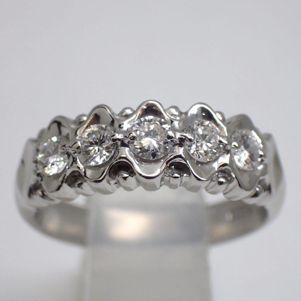 ダイヤモンドリング0.55ct