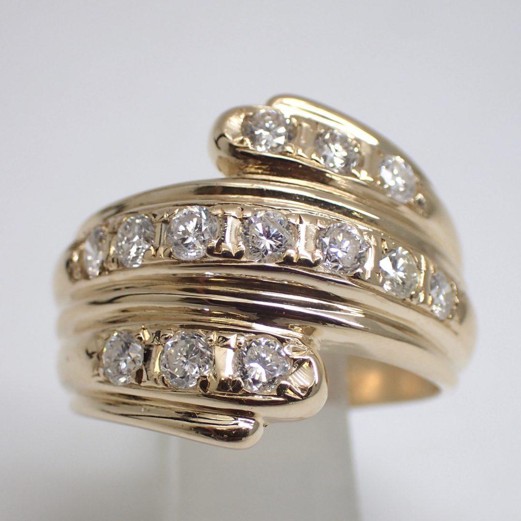 ダイヤモンドリング1.0ct