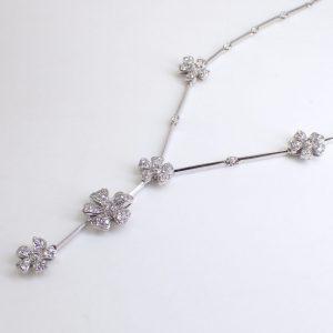 ダイヤモンドネックレス2.45ct