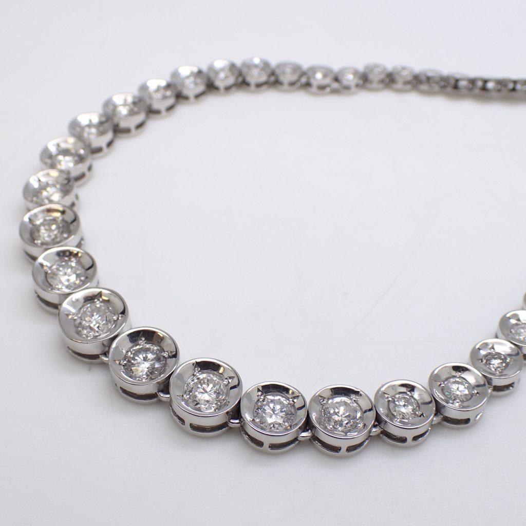 ダイヤモンドネックレス5.4ct