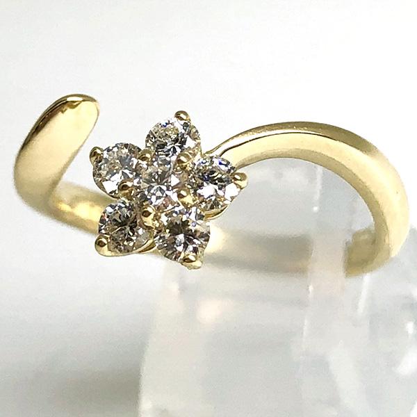 ダイヤモンドデザインリング0.4ct