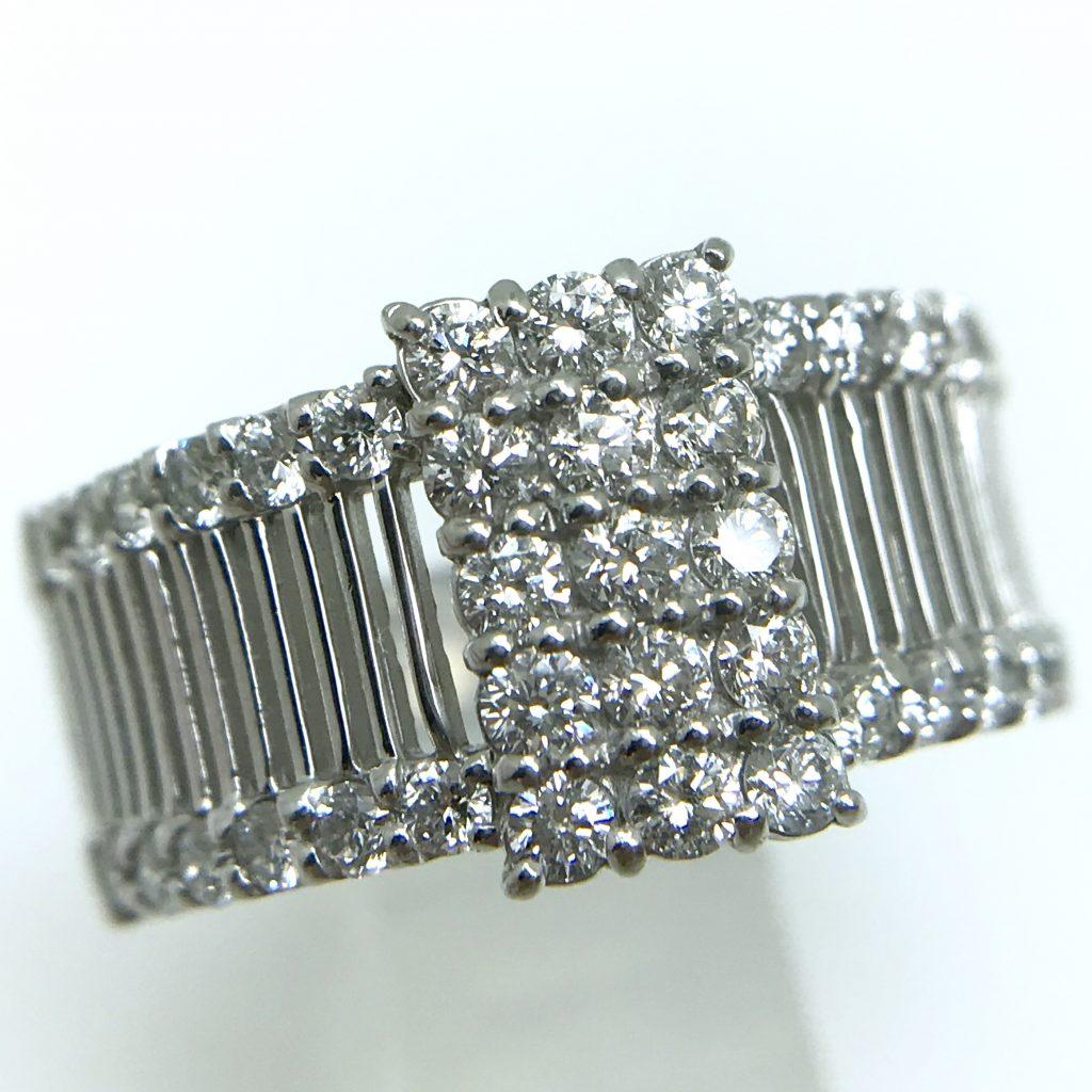 ファッションダイヤモンドリング1.0ct