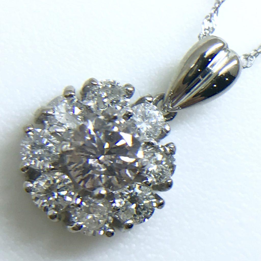 ダイヤモンドペンダント0.204ct