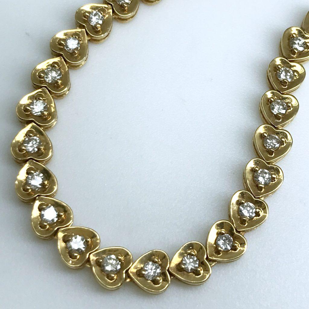 ダイヤモンドネックレス25.5g