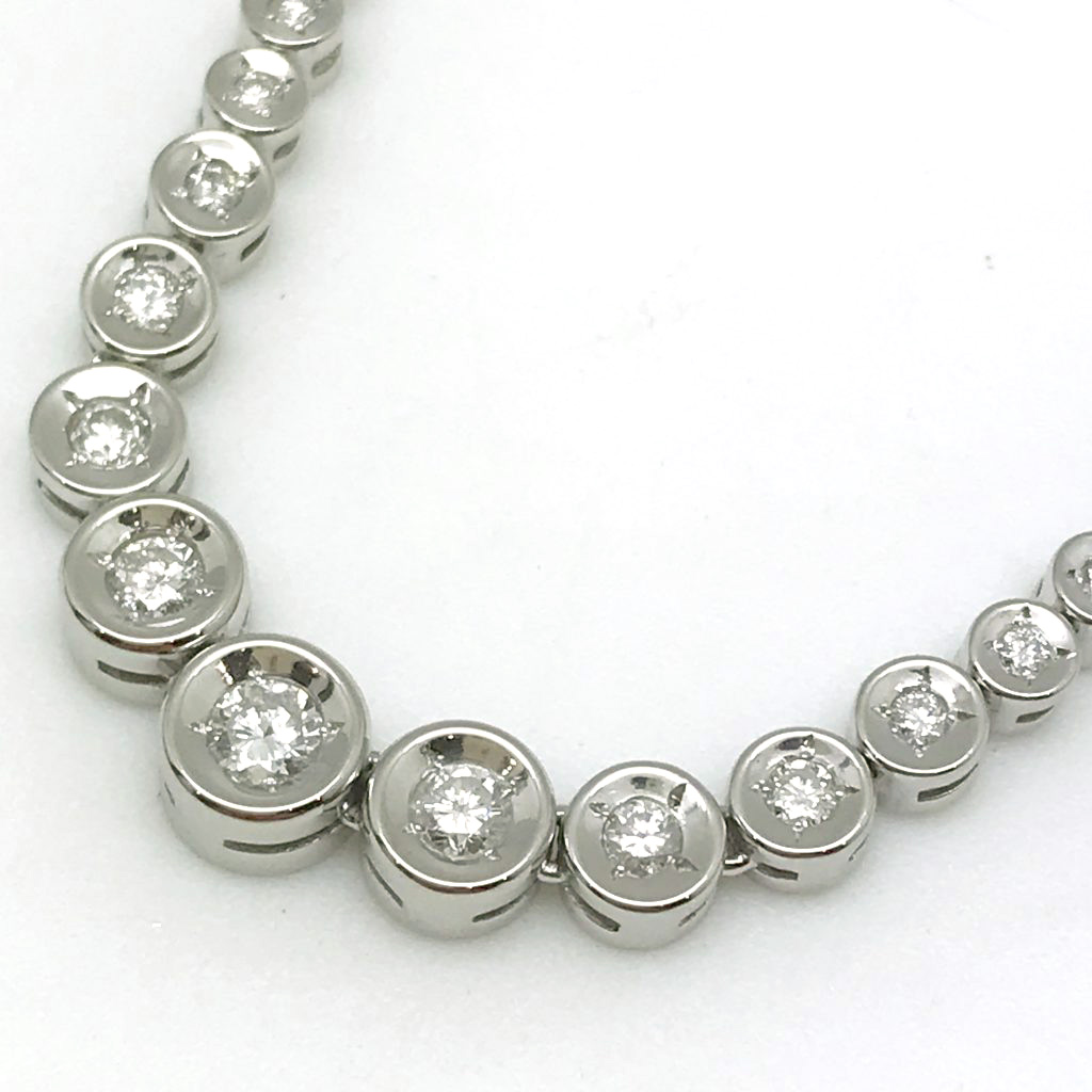 ダイヤモンドネックレス0.5ct