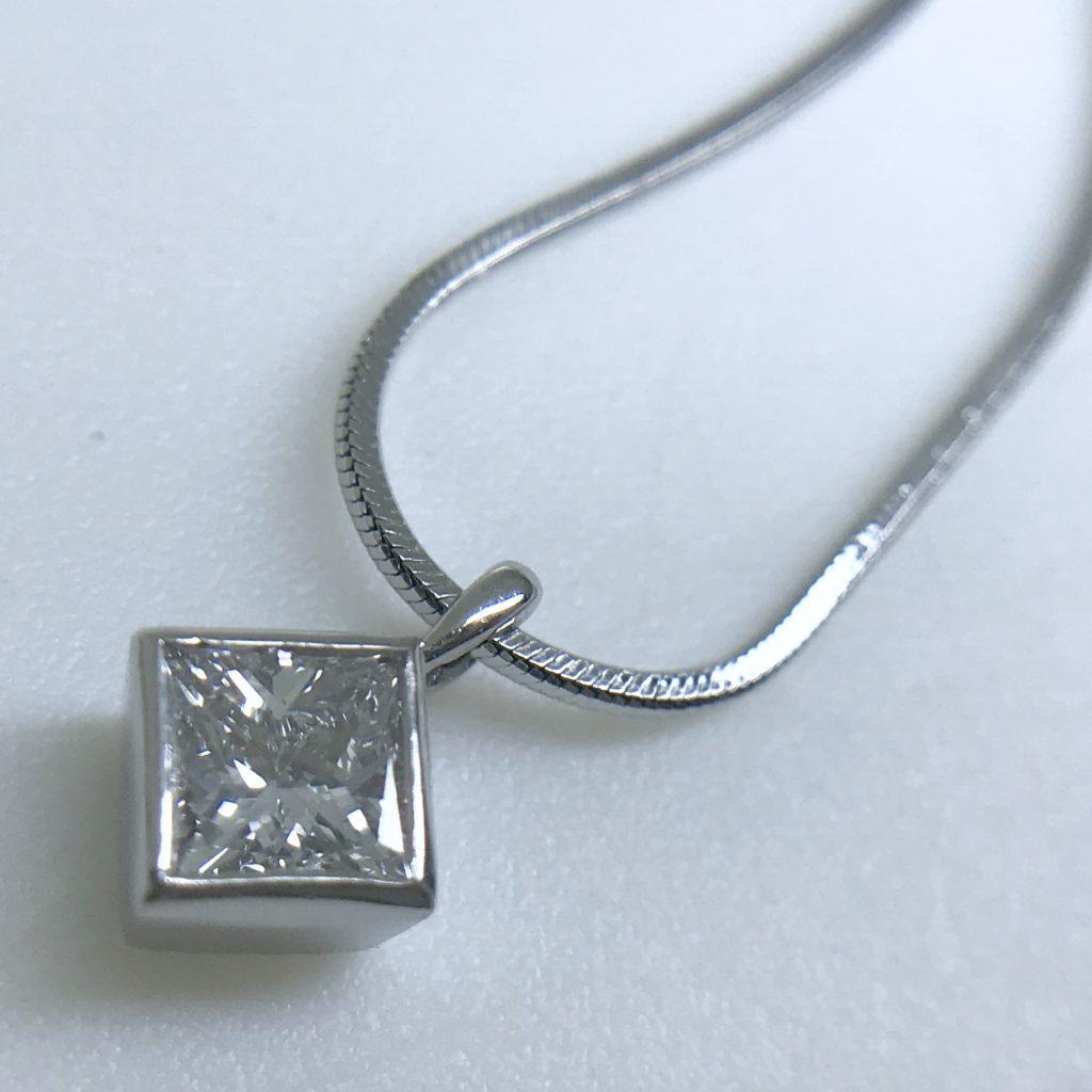 ダイヤモンドネックレス0.51ct