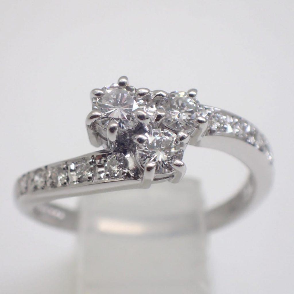 天然ダイヤモンドリング 0.43ct