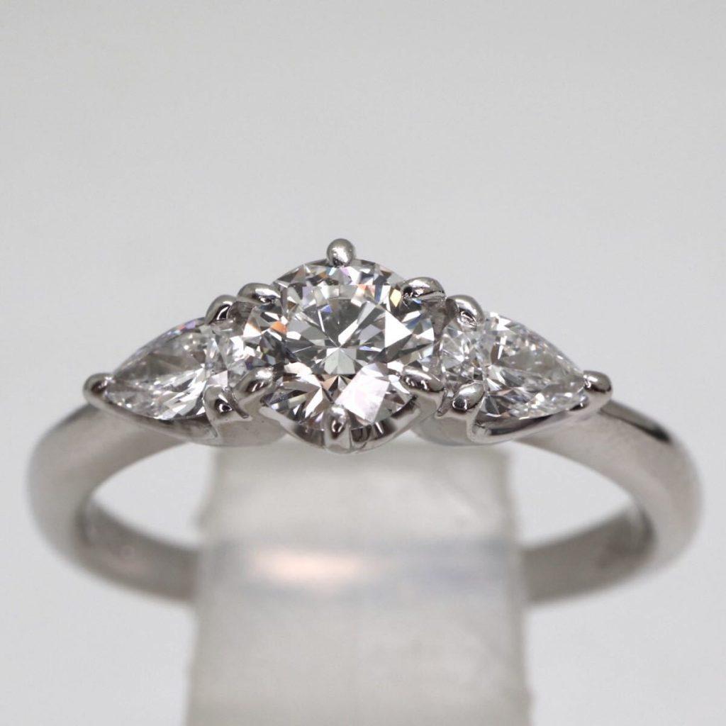 天然ダイヤモンドリング  3.2g