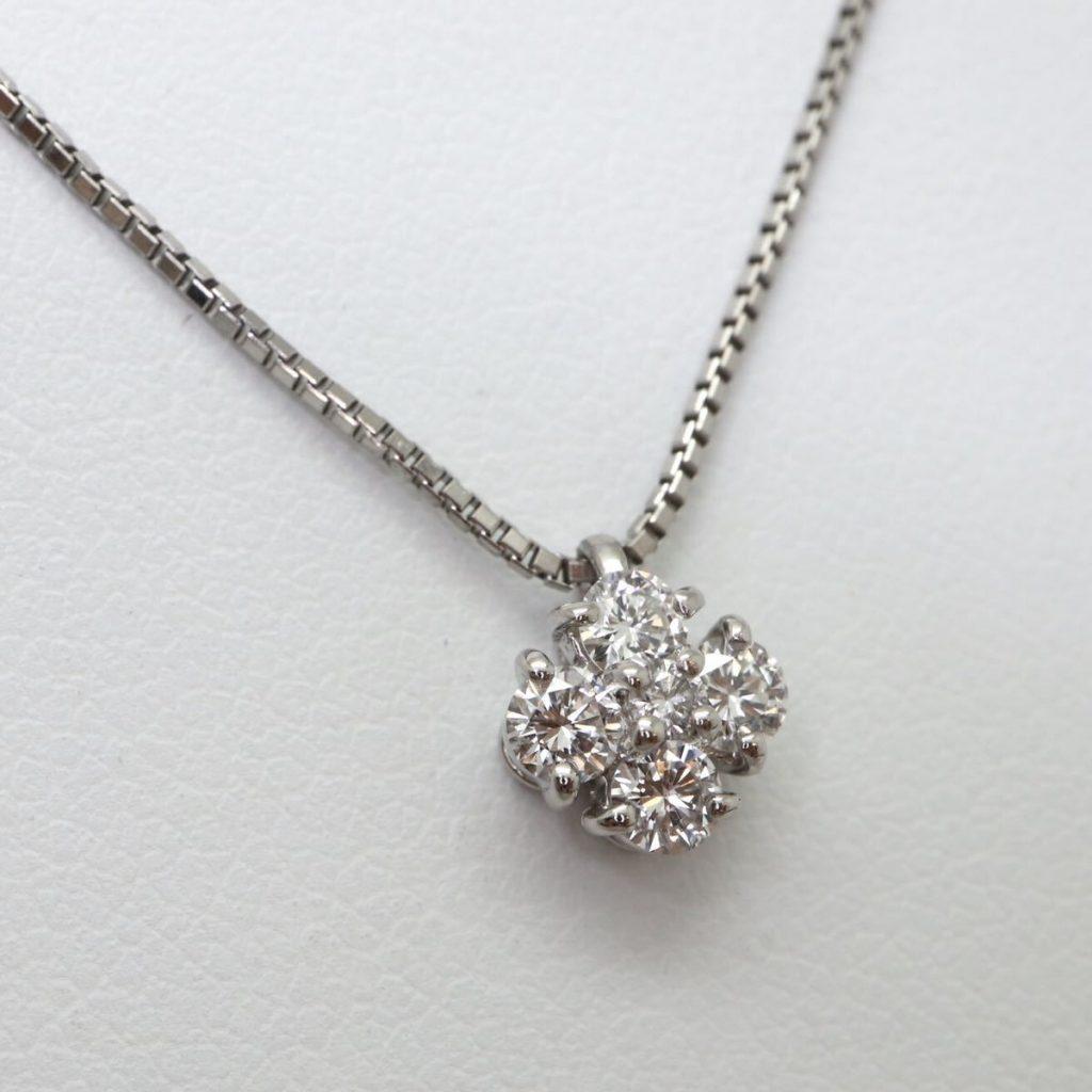 天然ダイヤモンドペンダント 0.32ct