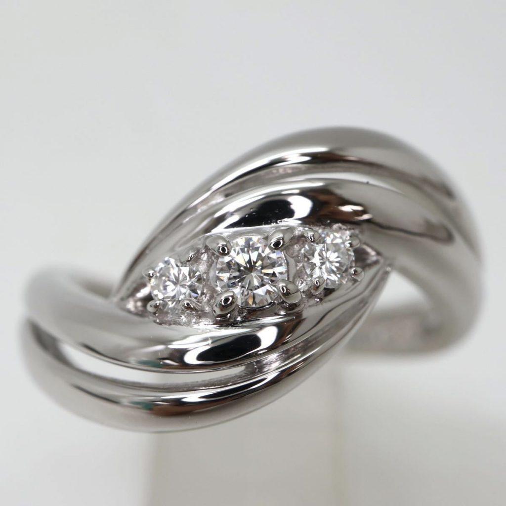 天然ダイヤモンドリング 0.13ct