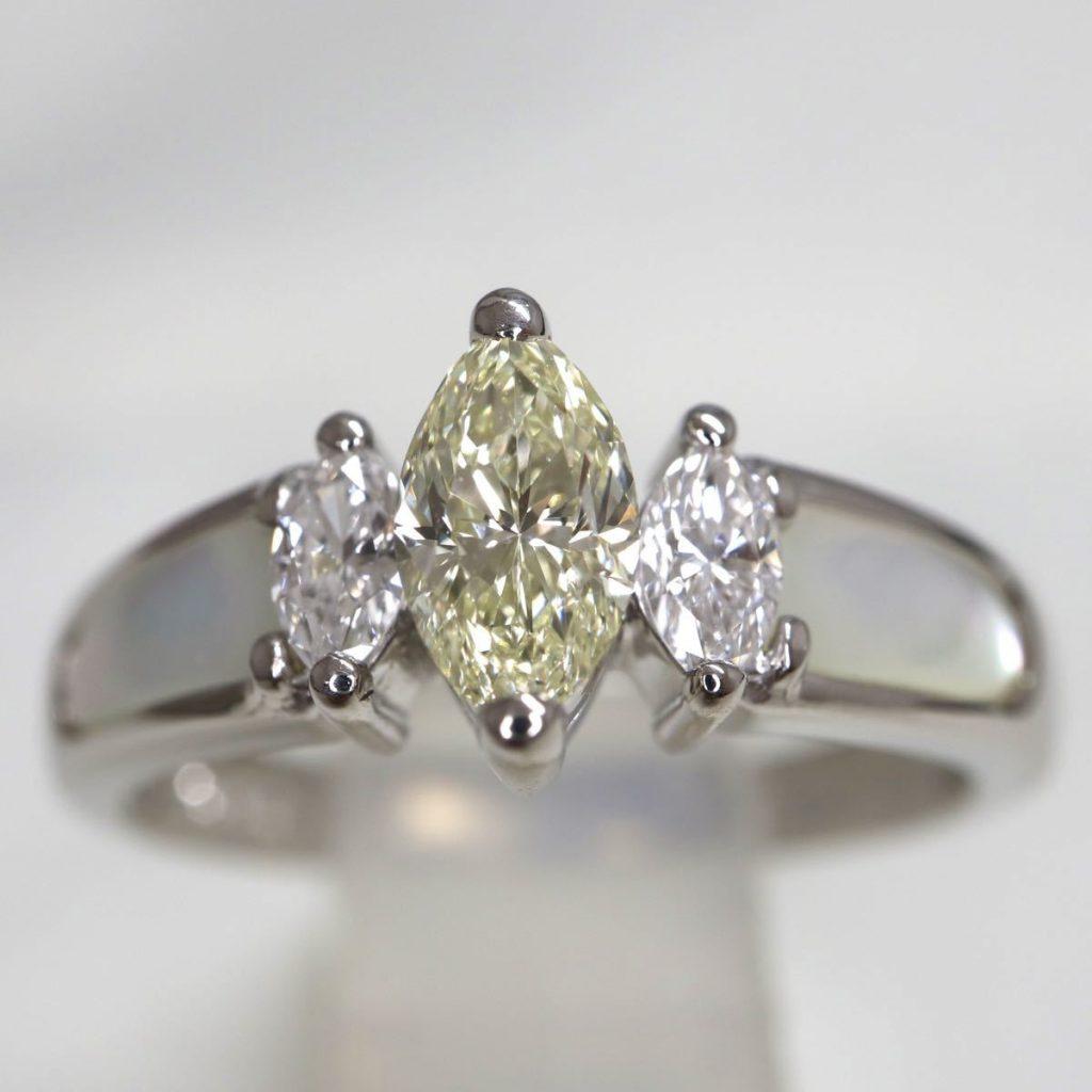 天然ダイヤモンドリング 0.41ct
