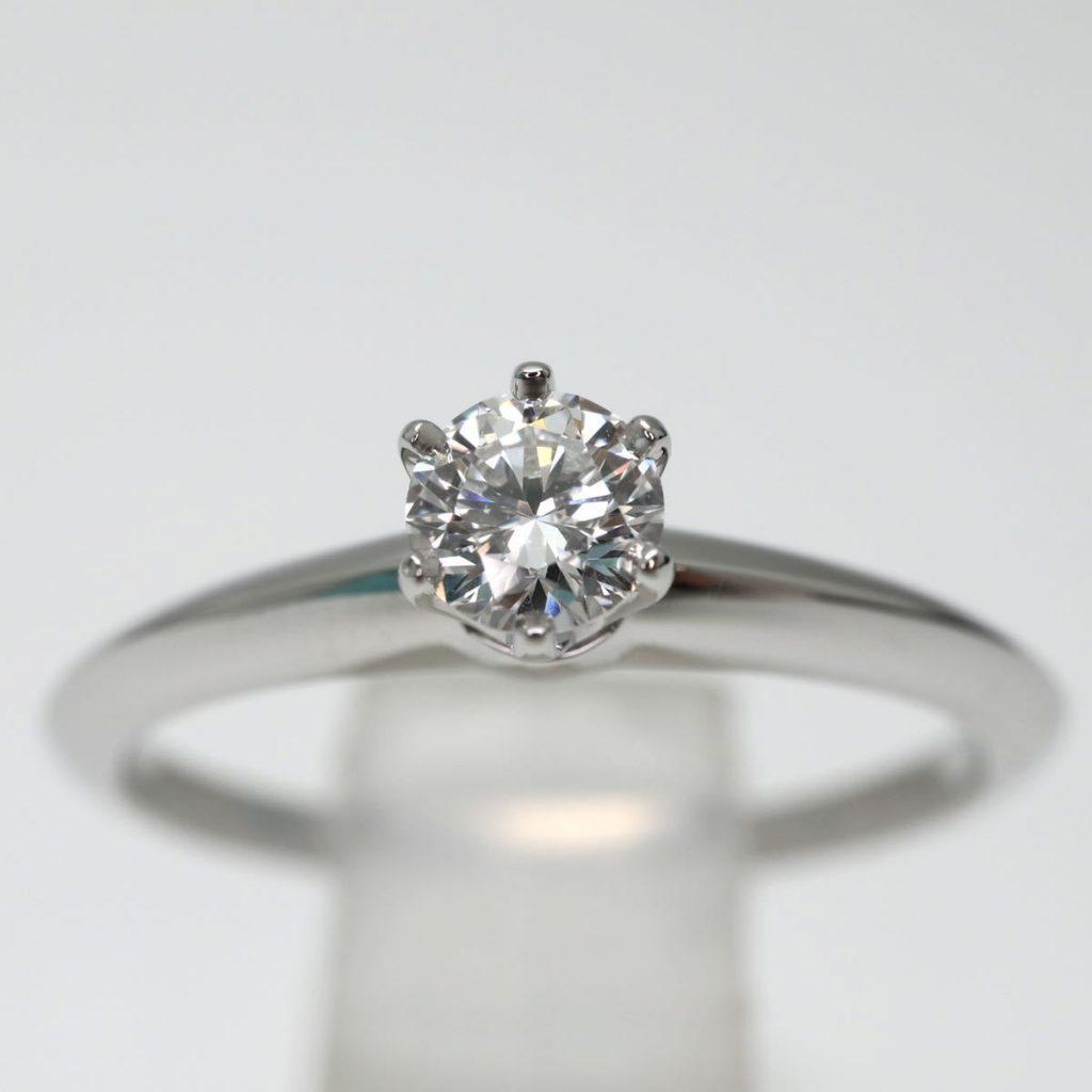 天然ダイヤモンドリング 0.27ct