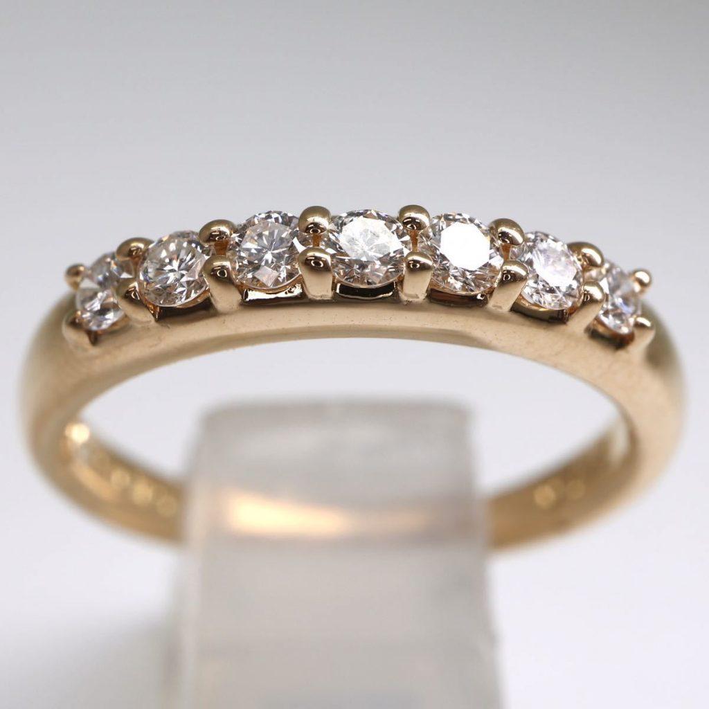 天然ダイヤモンドリング 0.28ct