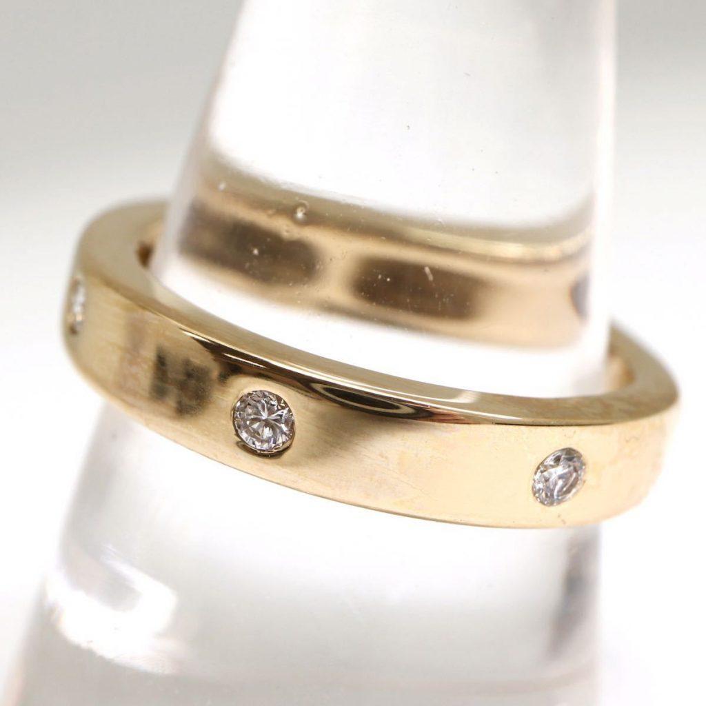 天然ダイヤモンドリング 0.16ct