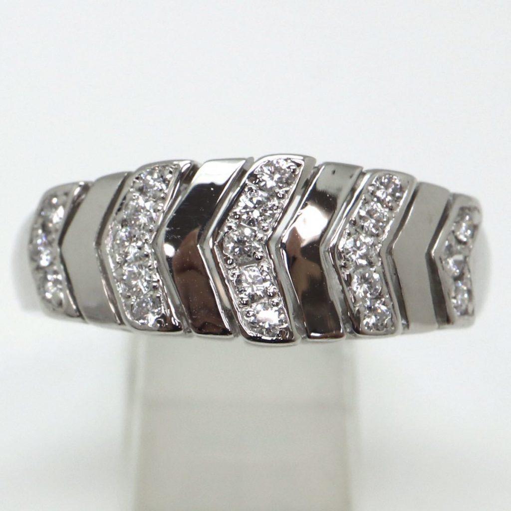 天然ダイヤモンドリング 0.21ct