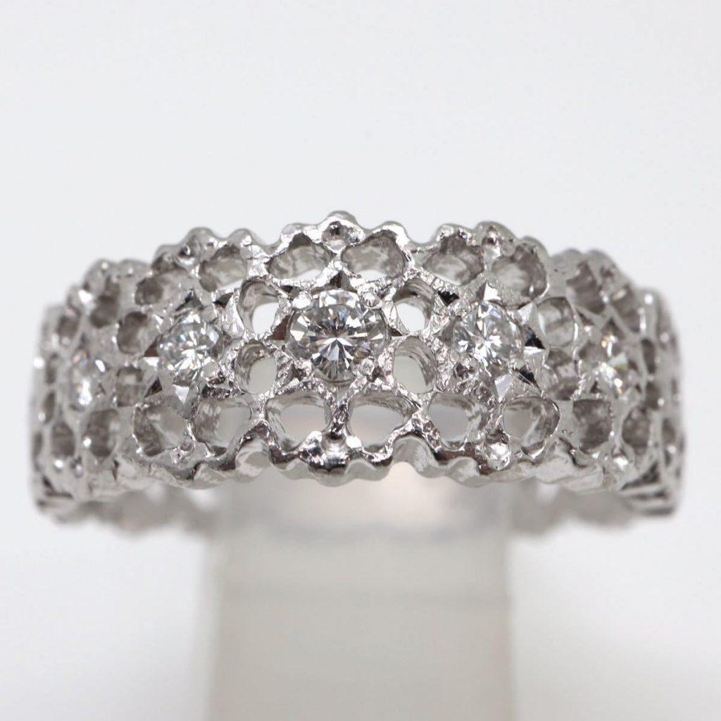 天然ダイヤモンドリング 0.17ct