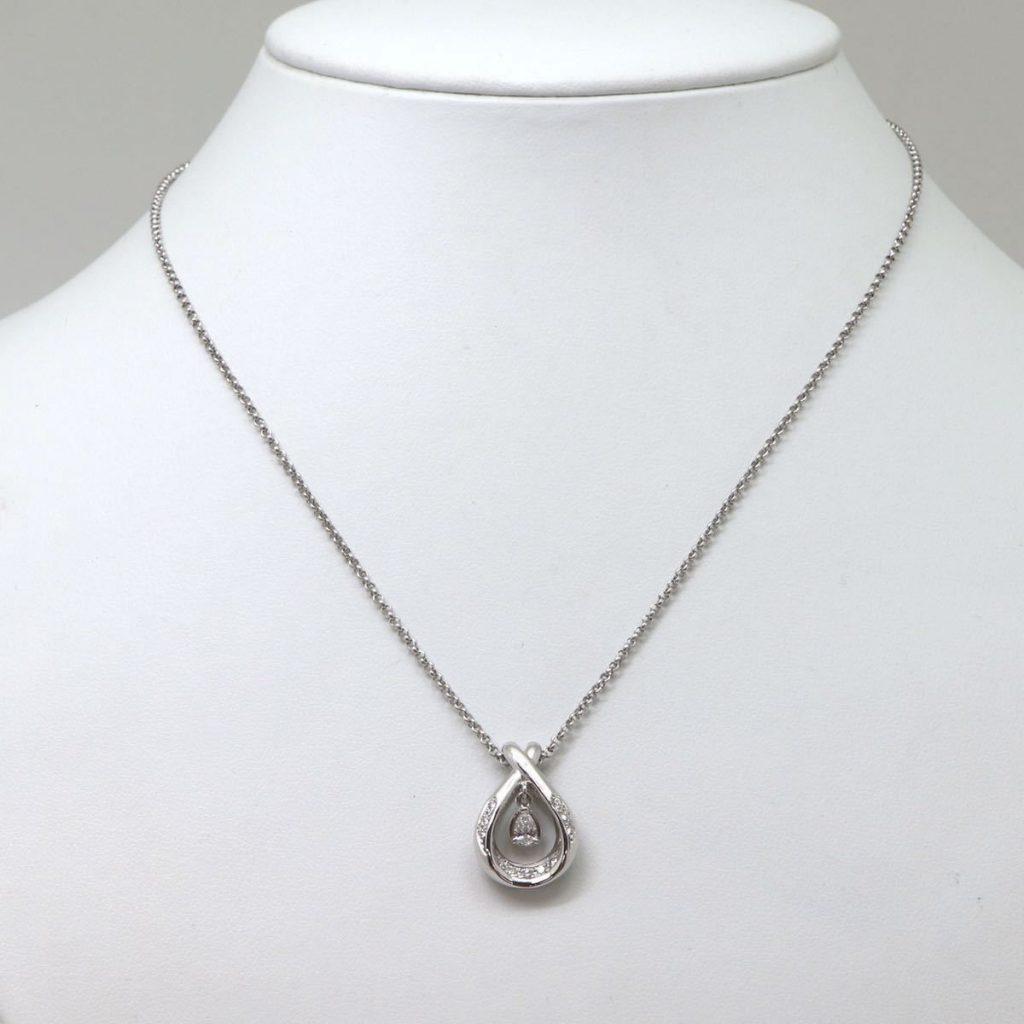 天然ダイヤモンドペンダント 0.28ct