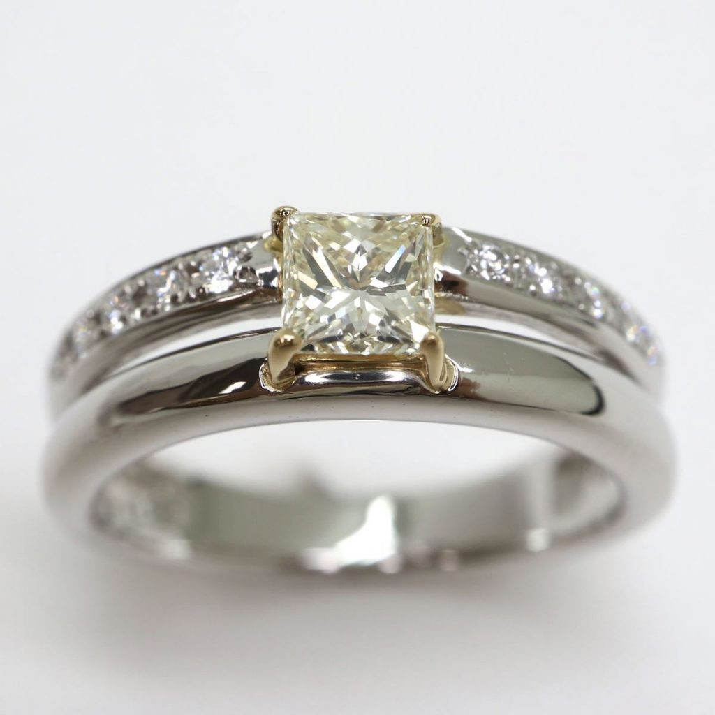 天然ダイヤモンドリング 0.53ct