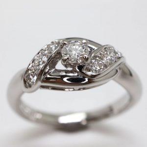 天然ダイヤモンドリング 0.30ct
