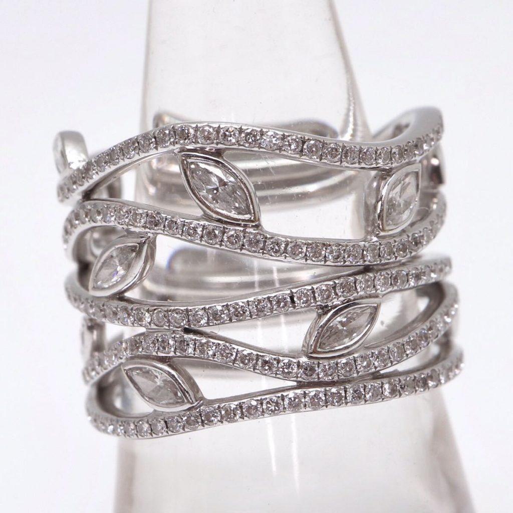 天然ダイヤモンドリング 1.75ct(ダイヤモンドレポート付)