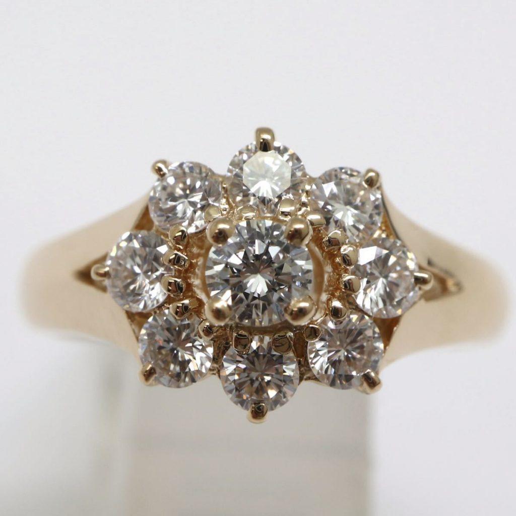 天然ダイヤモンドリング 0.50ct