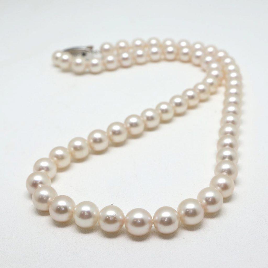 アコヤ本真珠ネックレス7.0-7.5mm珠