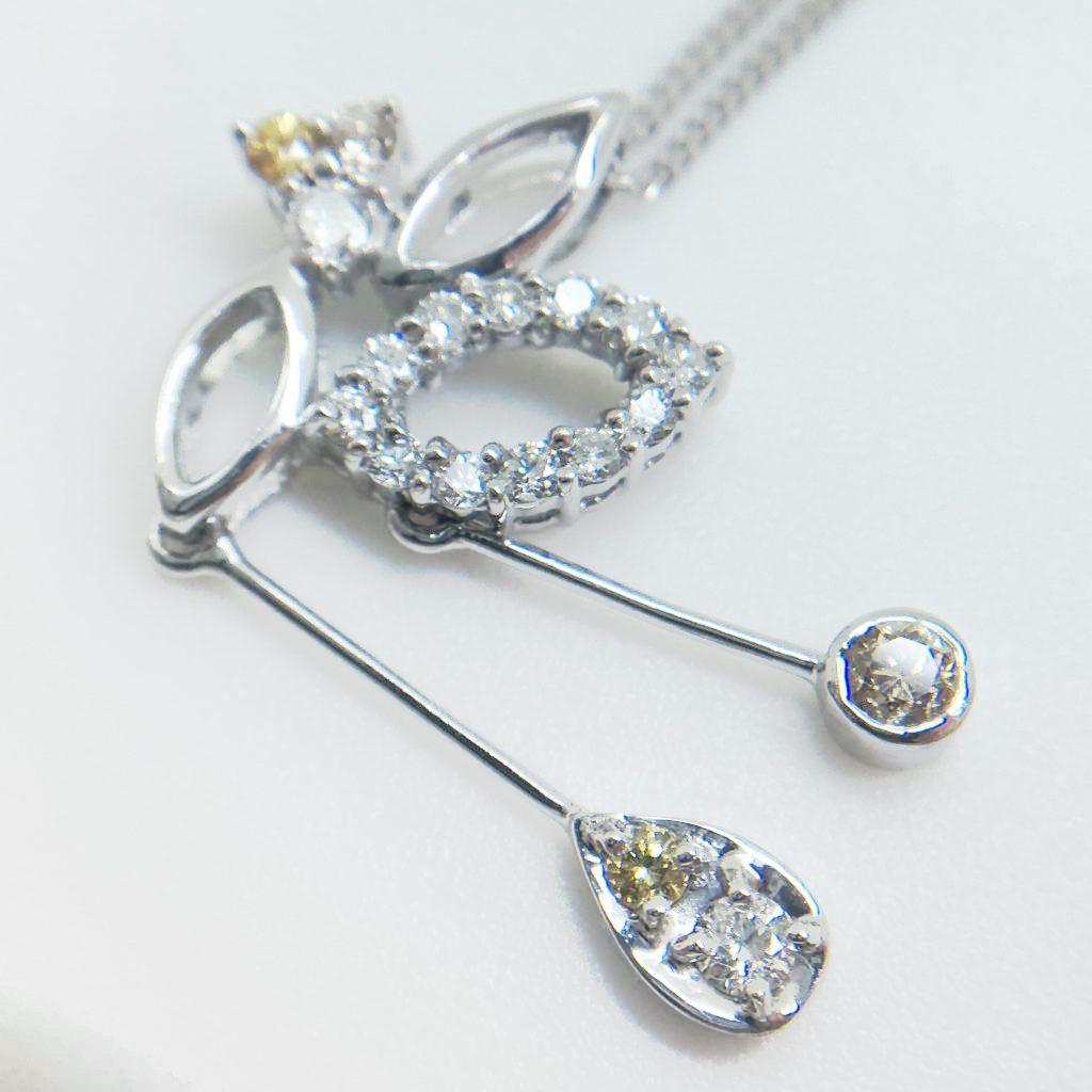 ダイヤモンドペンダント0.524ct