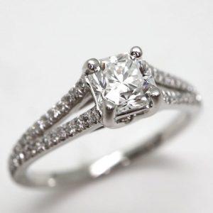 【Tiffany&Co.】LUCIDA ダイヤモンドリング