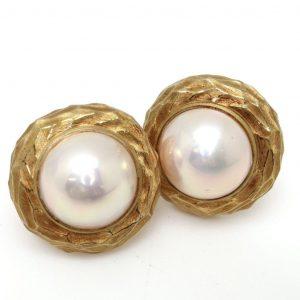 【POLA jewelry(ポーラジュエリー)】マベパールイヤリング