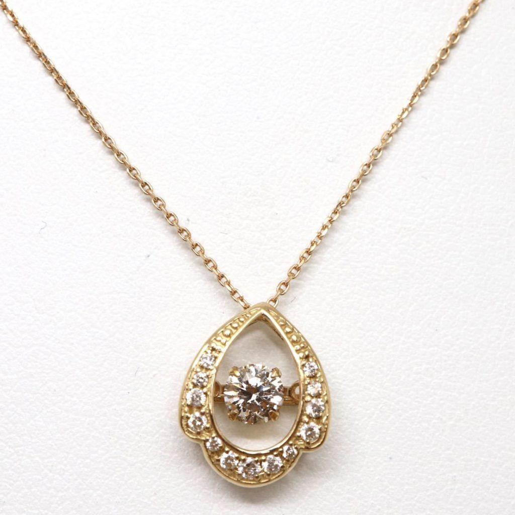 ダイヤモンドネックレス0.31ct